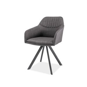 Jídelní židle MILTON II šedá