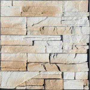 Vzorek obkladového kamene MONTANA bílá/hnědá