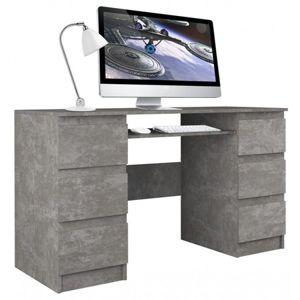 Počítačový stůl KUBA beton