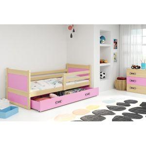 Dětská postel RICO 200x90 cm Ružové Borovice