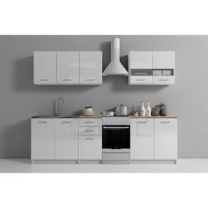 Kuchyňská sestava SET 200 dub sonoma/bílá